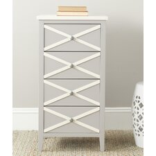 Sherrilyn 4 Drawer End Table