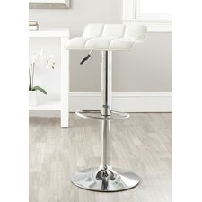 Lamita Adjustable Swivel Bar Stool with Cushion
