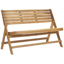 Luca Wood Garden Bench