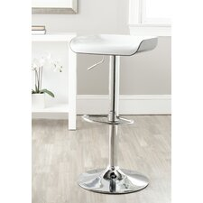 "<strong>Safavieh</strong> Rameka 23.6"" Adjustable Swivel Bar Stool"