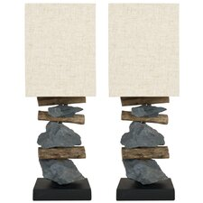 Highlander Mini Table Lamp (Set of 2)
