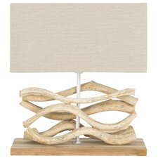 """Mara Vine 16"""" H Table Lamp with Rectangle Shade"""