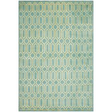 Mosaic Aqua / Light Gold Rug