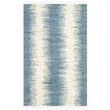 Montauk Blue Abstract Area Rug