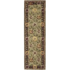 Assorted Green Rug