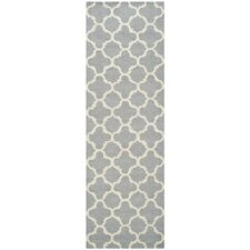 Cambridge Cicle Silver & Ivory Area Rug