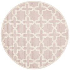 <strong>Safavieh</strong> Cambridge Light Pink / Ivory Rug