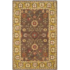 <strong>Safavieh</strong> Anatolia Brown / Gold Rug