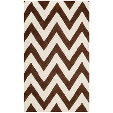Cambridge Dark Brown / Ivory Rug