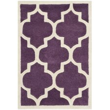 Chatham Purple / Ivory Moroccan Rug