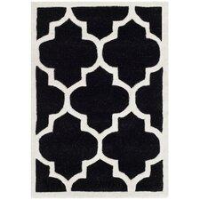 Chatham Black / Ivory Moroccan Area Rug