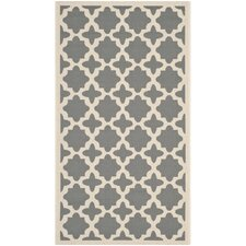 Courtyard Anthracite / Beige Rug