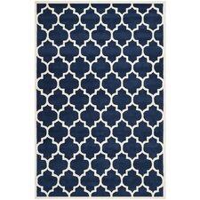 Chatham Dark Blue & Ivory Moroccan Area Rug