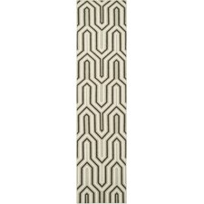 <strong>Safavieh</strong> Dhurries Grey / Multi Rug