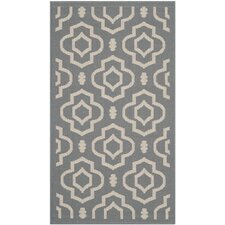 Courtyard Anthracite / Beige Outdoor Rug