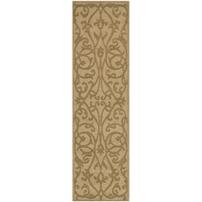 Impressions Light Brown Modern Rug