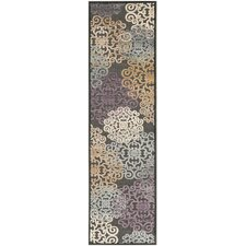 Paradise Charcoal Wilton Rug