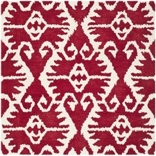 Wyndham Red / Ivory Rug