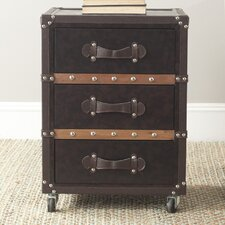Norman 3 Drawer Rolling Chest