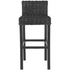 "<strong>Safavieh</strong> Carissa 29.5"" Bar Stool with Cushion"