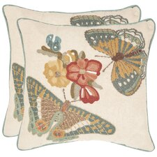 <strong>Safavieh</strong> Kelsey Cotton Decorative Pillow (Set of 2)