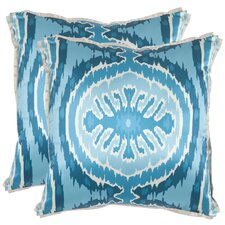 <strong>Safavieh</strong> Brooke Polyester Decorative Pillow (Set of 2)