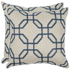 <strong>Safavieh</strong> Hayden Linen Decorative Pillow (Set of 2)