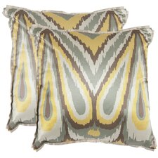 <strong>Safavieh</strong> Keri Polyester Decorative Pillow (Set of 2)