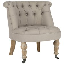 Carlin Tufted Slipper Chair