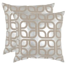 <strong>Safavieh</strong> Cole Linen Decorative Pillow (Set of 2)