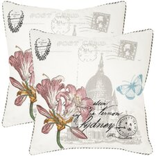Gloria Cotton Decorative Pillow (Set of 2)