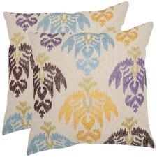 Dina Cotton Throw Pillow (Set of 2)