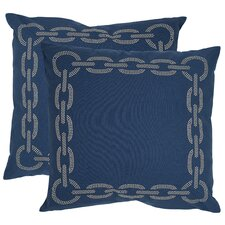 Paisley Cotton Decorative Pillow (Set of 2)