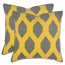 <strong>Safavieh</strong> Allen Decorative Pillow (Set of 2)