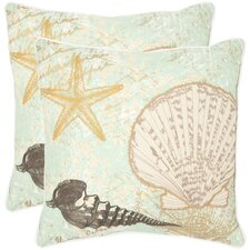 Eve Cotton Decorative Pillow (Set of 2)