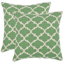 Suzy Cotton / Linen Decorative Pillow (Set of 2)