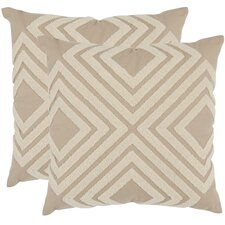 <strong>Safavieh</strong> Stella Cotton Decorative Pillow (Set of 2)