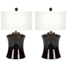 Gary Ceramic Table Lamp (Set of 2)