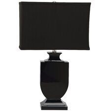 Darcy Black Crystal Urn Table Lamp