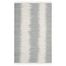 Montauk Grey Abstract Area Rug