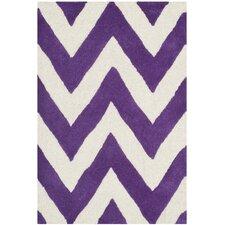 Cambridge Purple / Ivory Area Rug