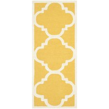 <strong>Safavieh</strong> Cambridge Gold / Ivory Rug