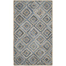 Cape Cod Natural / Blue Rug