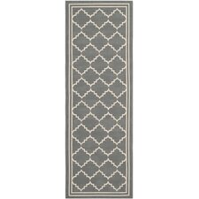 <strong>Safavieh</strong> Courtyard Grey / Beige Rug