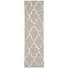 Dhurries Dark Grey/Ivory Area Rug