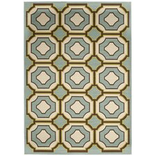<strong>Safavieh</strong> Hampton Light Blue / Ivory Rug
