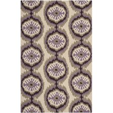 Four Seasons Beige/Purple Rug