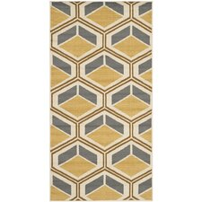 Hampton Ivory / Camel Outdoor Rug
