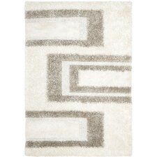 <strong>Safavieh</strong> Manhattan White / Grey Rug