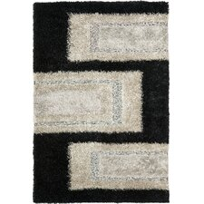 <strong>Safavieh</strong> Manhattan Black / Grey Rug